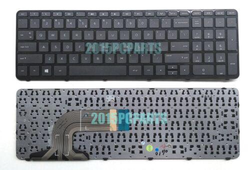 New HP 15-f211wm 15-f272wm 15-f278nr 15-f233nr 15-f224wm US Keyboard with Frame