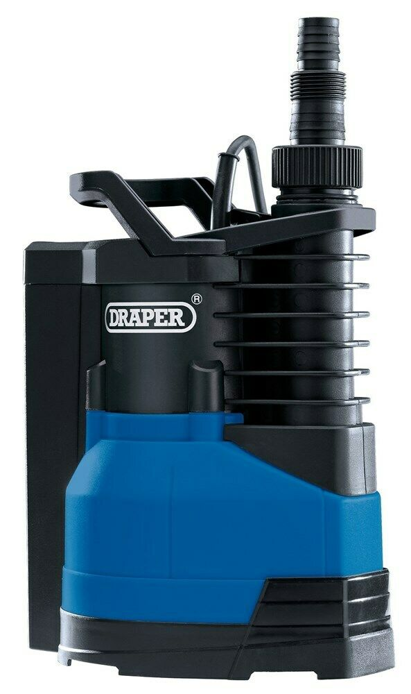 DRAPER 98917 - Submersible Water Pump With Integral Float Switch (400W)