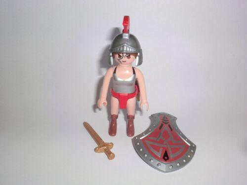 Playmobil 1 x Amazone Kriegerin Griechin Römerin Gladiator Antike Schild Schwert