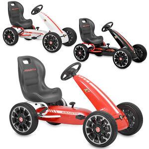 Hecht Abarth Gokart Kinder Tret Go Kart Tretauto Pedal Auto Kinderfahrzeug Cart