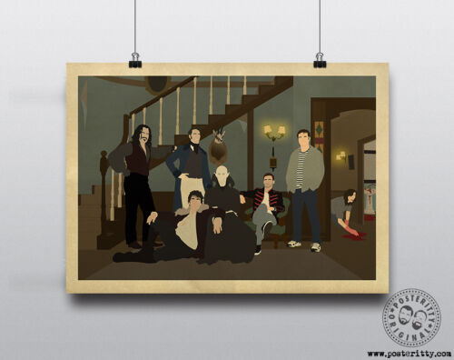 WHAT WE DO IN THE SHADOWS Minimalist Movie Poster Posteritty Minimal WWDITS Art