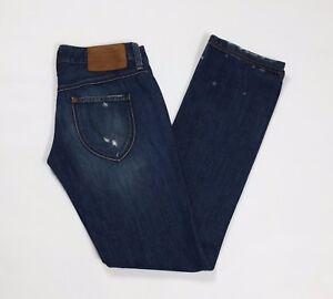 Replay wv 510 jeans donna usato W29 L34 tg 43 slim gamba dritta blu donna T2627
