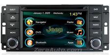 07-17 Jeep Wrangler JK DVD CD GPS Navigation Stereo Bluetooth Touchscreen Radio