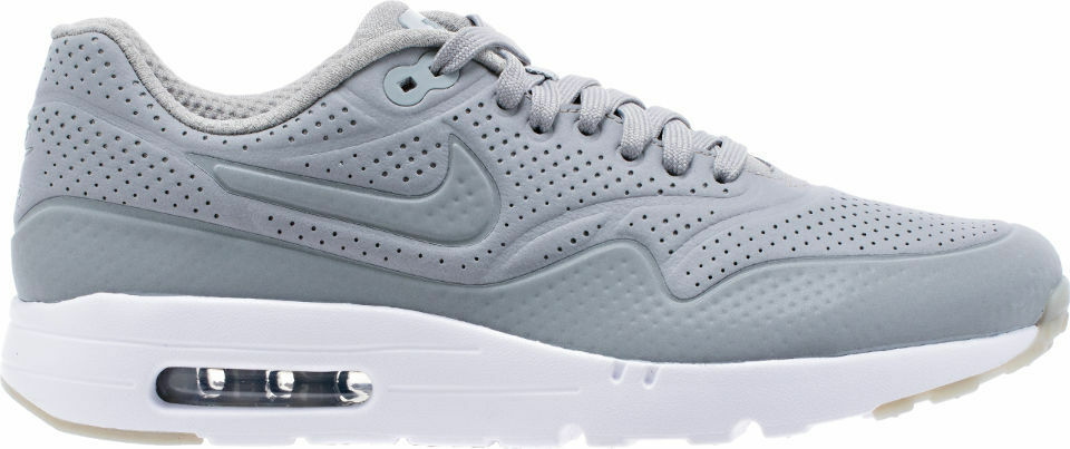 new style 83ac8 148e0 Nike Air Max 1 Ultra Ultra Ultra Moire Men s Size 10.5 Running Shoes Medium  Grey 705297