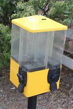 U Turn Vending Machine Terminator 4 Head Carousel Candy Snacks With Keys