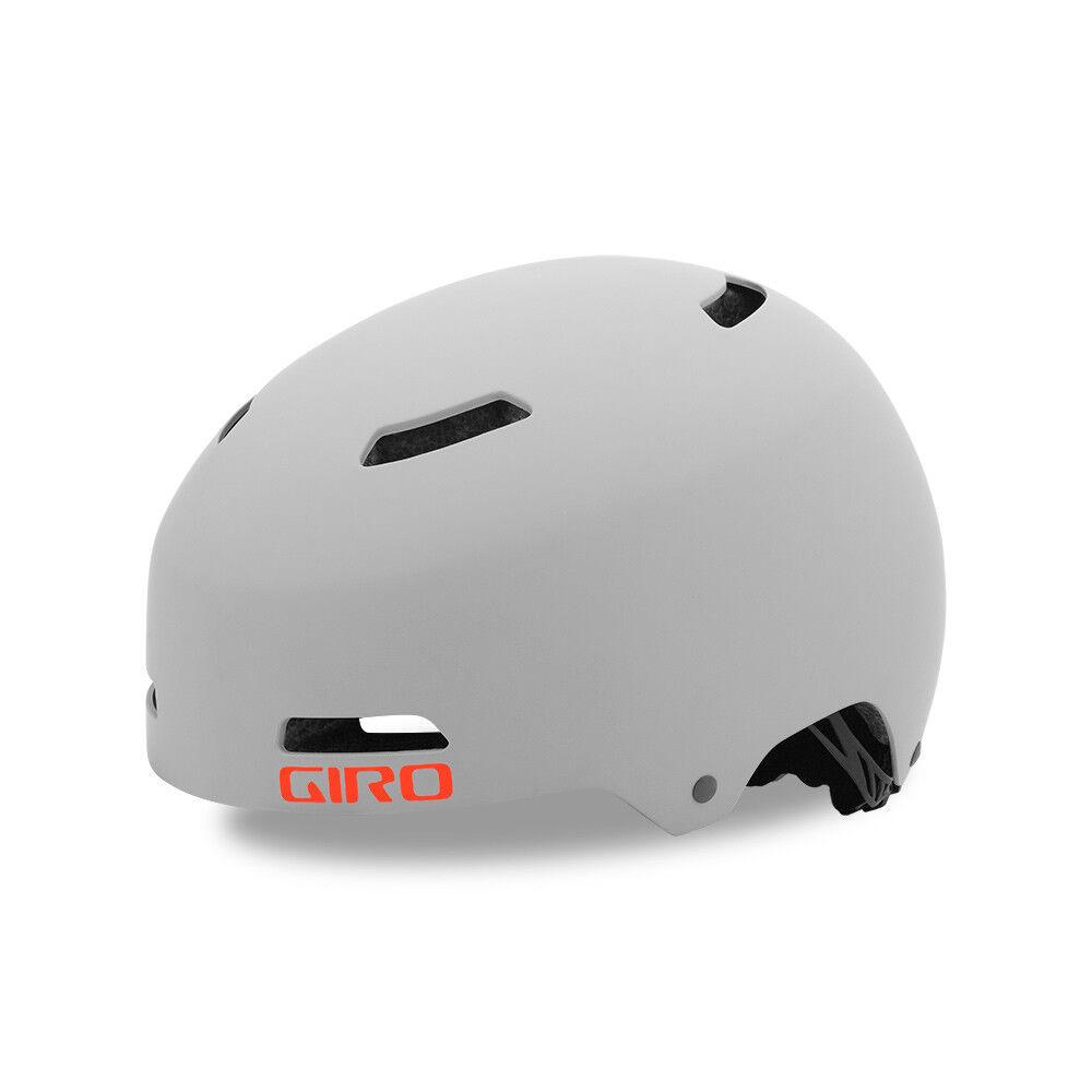 Giro Quarter FS BMX Dirt Fahrrad Helm grey 2019