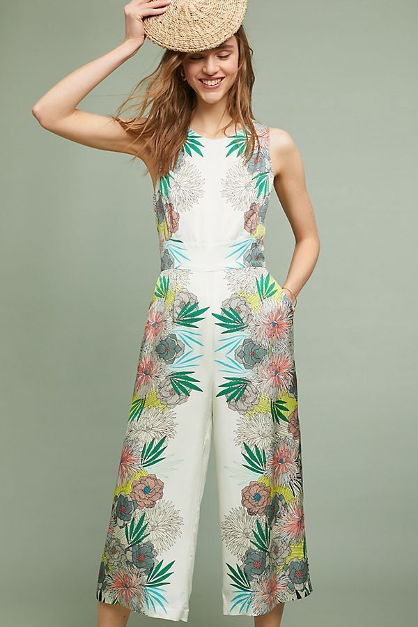 228 Anthropologie  COREY LYNN CALTER BLOOME JUMPSUIT size 2 new nwt