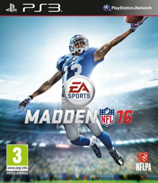 Madden NFL 16 (PS3) BRAND NEW SEALED SONY PLAYSTATION