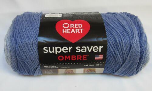 Red Heart Hombre Yarn 10 In Baja Blue