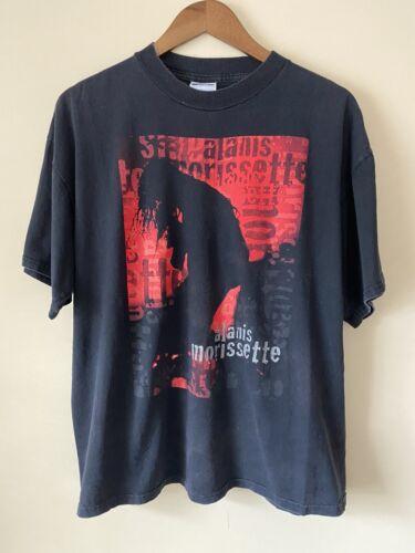 vintage alanis morissette t shirt XL