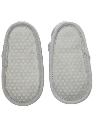 John Lewis Baby Knitted Booties Grey 0-3 Months Brand New With Tags Free P/&P