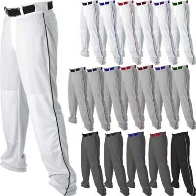 Russell Youth Boys Gray or White w//pipe Baseball Pants S233L2BK  **REG $28.00**