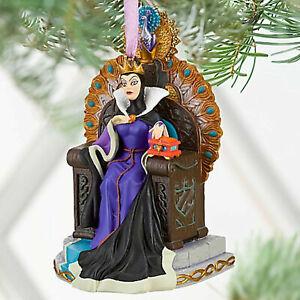 Disney Store EVIL QUEEN Sketchbook Christmas Ornament 2010 ... Disney Evil Queen Ornament