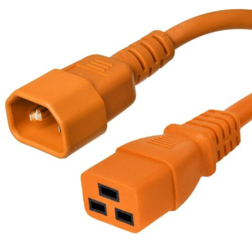 Iron Box IEC 320 Power Cord C14 to C19-15A//250V 14 AWG