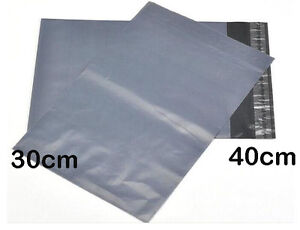 5-x-GREY-STRONG-PLASTIC-400x300-mm-MAILING-BAGS-POLY-POSTAGE-POST-POSTAL-SEAL