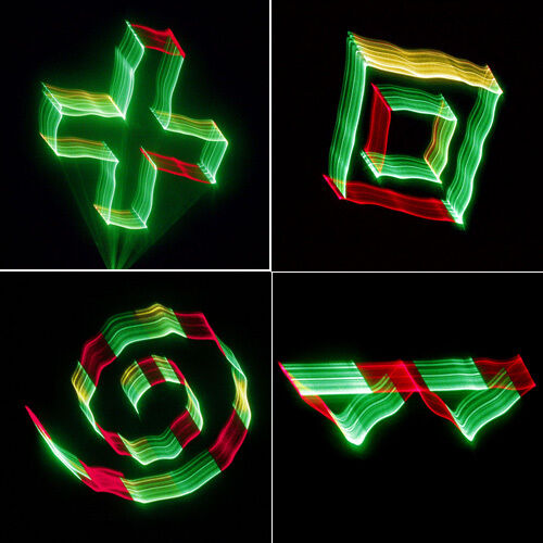 SUNY DMX 3D Effects RGY Red Green Yellow Laser DJ Pub Light Gig Show TDM-RGY250