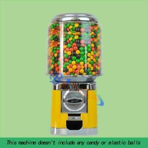 Yellow Wholesale Vending Products Bulk Vending Gumball Candy Dispenser Machine