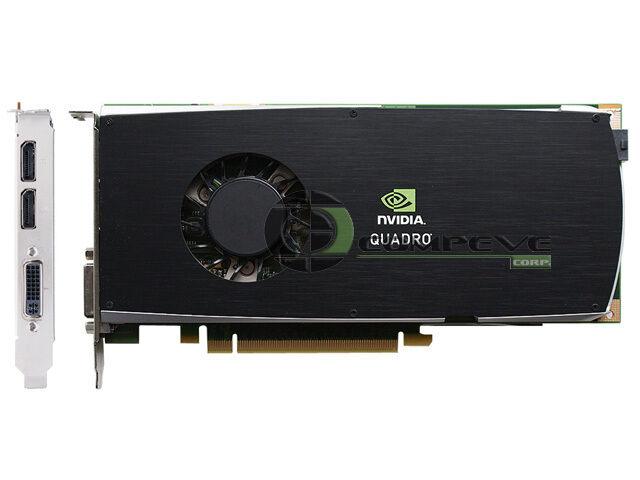 Nvidia Quadro FX 3800 1GB GDDR3 PCIe x16 Dual DP Graphics Video Card Workstation