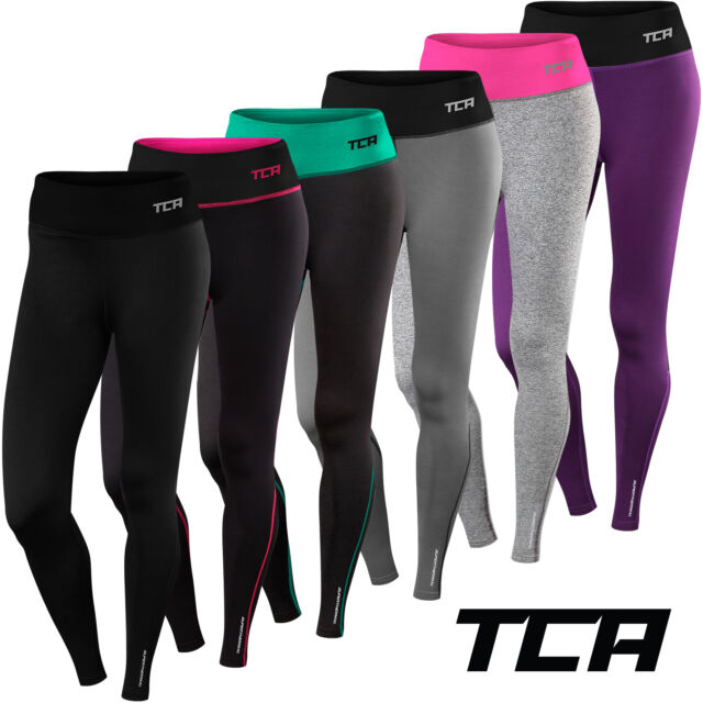 Women's TCA SuperThermal Pro Workout Gym Running Tights / Thermal Warm Bottoms
