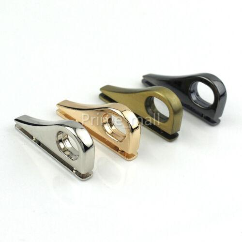 2pcs Bag Side Anchor hanger Clamps Buckle Leather craft Shoulder Bag Hardware