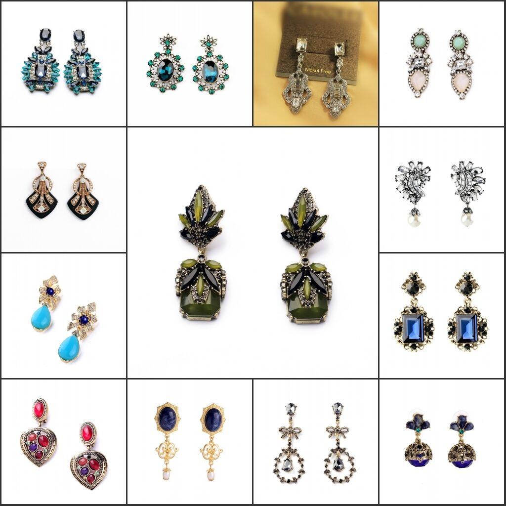 Wholesaler Retailer Sale wholesale Lot of 13 earrings CLIPS Vintage
