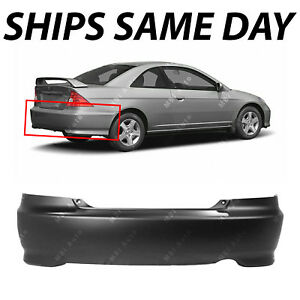 Details About New Primered Rear Per Cover Fascia For 2004 2005 Honda Civic Coupe 04 05