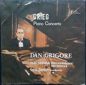 Grieg - Piano Concerto, DAN GRIGORE, SIMON, CLUJ-NAPOCA, Electrecord STEREO
