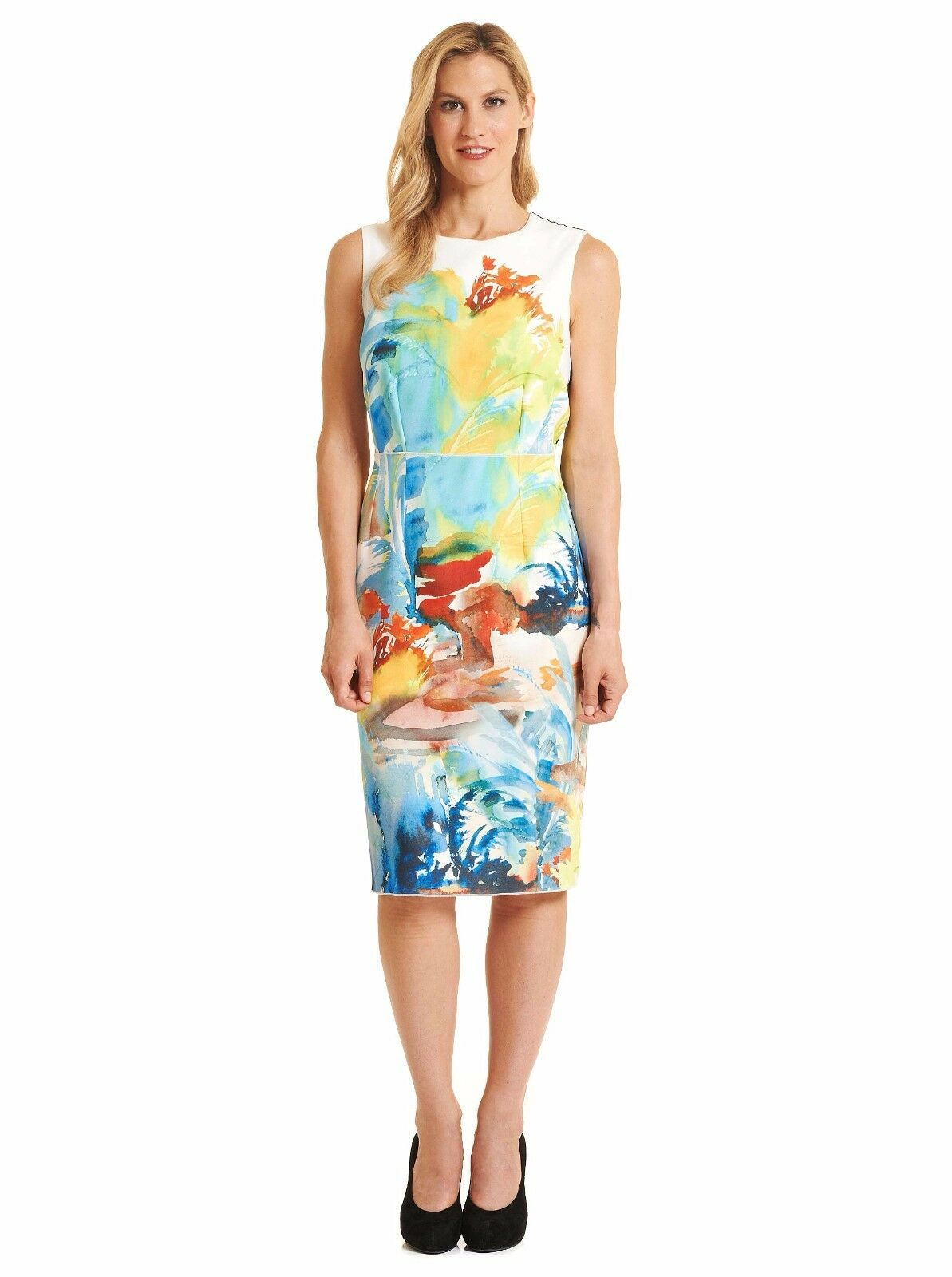 ROBERT GRAHAM WOMEN'S TEAGAN SLEEVELESS DRESS MSRP  428 428 428 NWT 683883