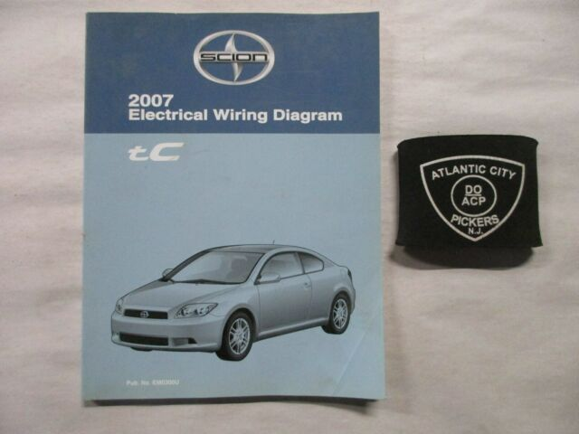 2007 Toyota Scion Tc Electrical Wiring Diagram Service