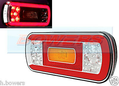 12V/24V GLOW-TRAC HALO NEON LED REAR LEFT OR RIGHT TAIL LAMP LIGHT TRUCK TRAILER