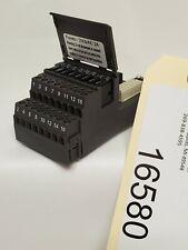 DELTAV EMERSON PROCESS KJ4001X1-CB1 TERMINAL BLOCK FUSED I//O 12P0625 *