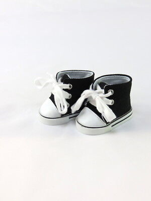 Brown High Top Sneakers 18 in Doll Clothes Fits American Girl or Boy