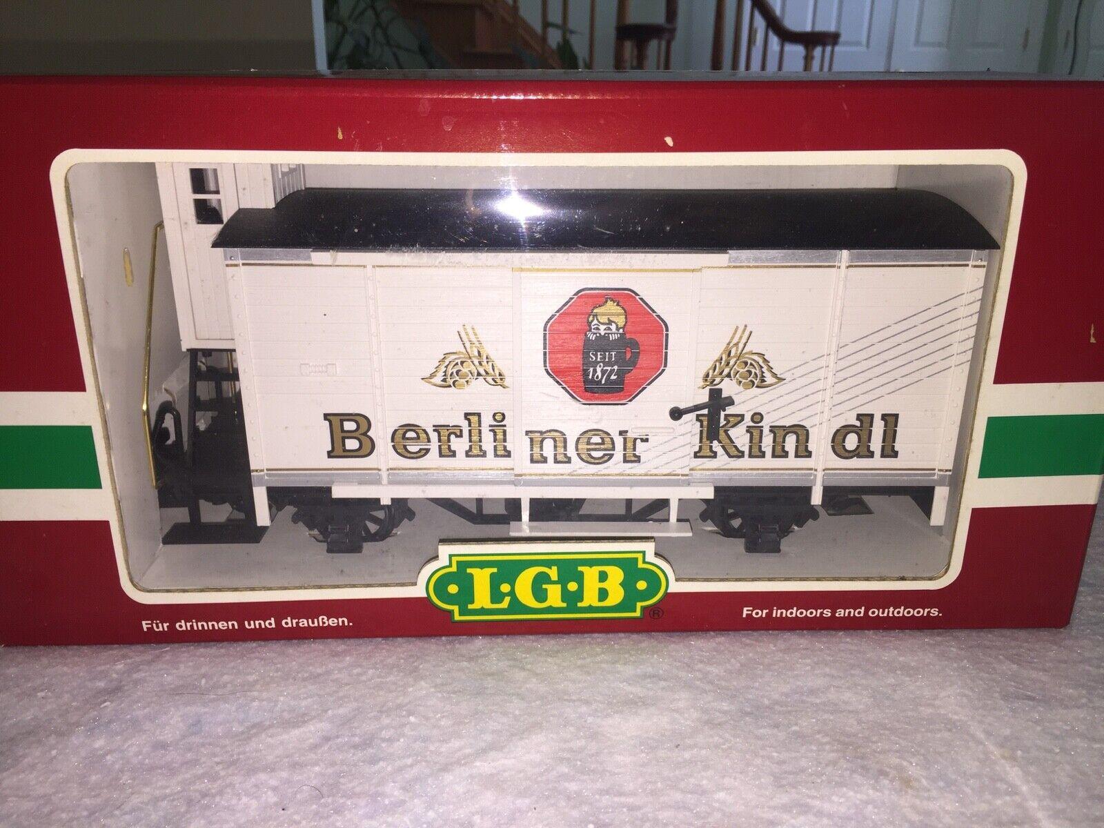 MIB LGB Lehuomon Gross Bahn 44260 Berliner Kindl 1872