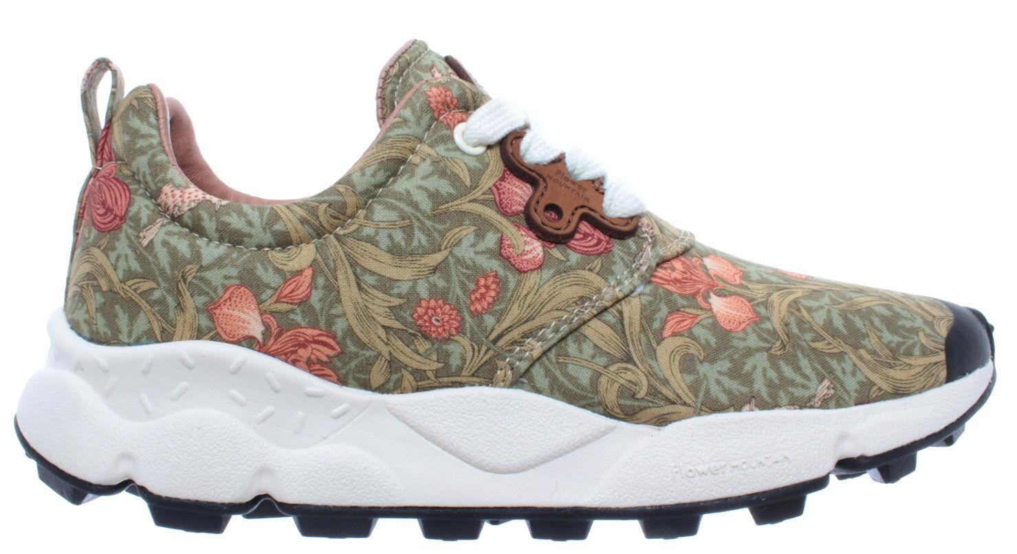 FLOWER MOUNTAIN Scarpe Scarpe Scarpe Donna scarpe da ginnastica Pampas Canvas Jungle Flow rosa Tela Nuove 015f68