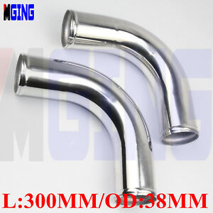 2x-Aluminum-38mm-1-5-034-inch-90Degree-Elbow-Turbo-Intercooler-Pipe-Piping-Tubing