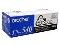 Genuine Brother Tn540 Black Toner Cartridge 3500 Page Yield For Mfc-8120