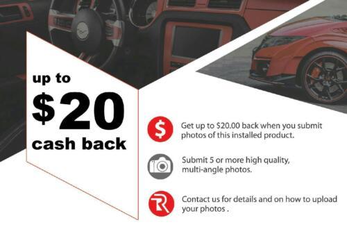 Rtint Headlight Tint Precut Smoked Film Covers for Porsche Macan 2015-2016
