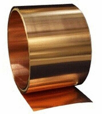 "20ga Select Thickness - 18ga 26ga Copper Sheet 4/""x120/"" 22ga 24ga"
