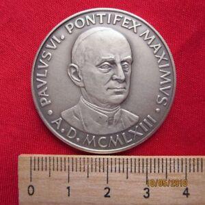 Medaille Paulus Vi Pontifex Maximus 1963 Ebay