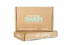 Virgin Cold-Pressed Coconut Swish:Teeth Whitening & Detox