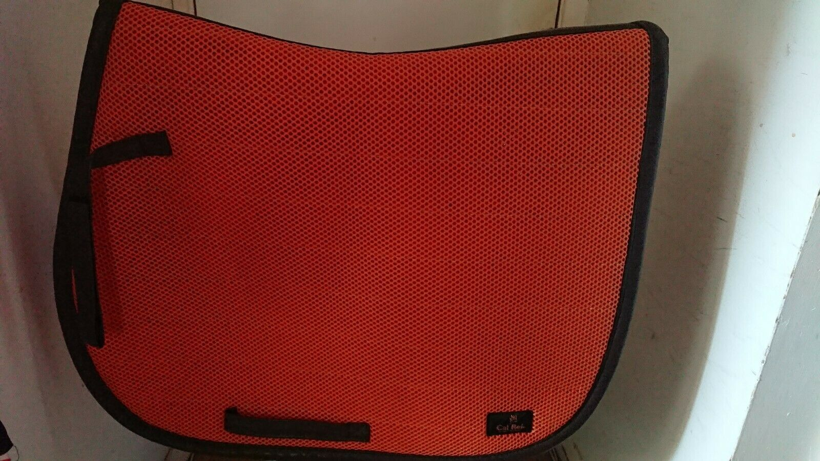 Cal Rei GP Saddle  Cloth - Full Size - Colour orange & Brown  outlet online