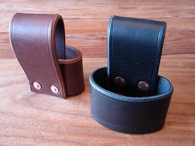 Handmade leather axe holster / belt loop, bushcraft hatchet Gransfors Hultafors