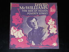 45 tours SP - DAVID MC WILLIAMS - THIS SIDE OF HEAVEN - 1968