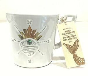 NEW-Starbucks-Siren-2014-Anniversary-Collection-Mermaid-Eye-Mug-Wooden-Tag