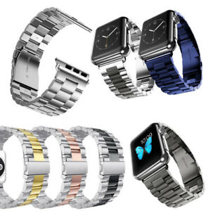 For-Apple-Watch-iWatch-series-4-3-2-1-Stainless-Steel-Band-Link-Bracelet-Strap