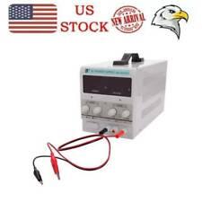 Power Supply Adjustable Dc 30v 5a Led Digital Lab Bench Power Source Stabilized
