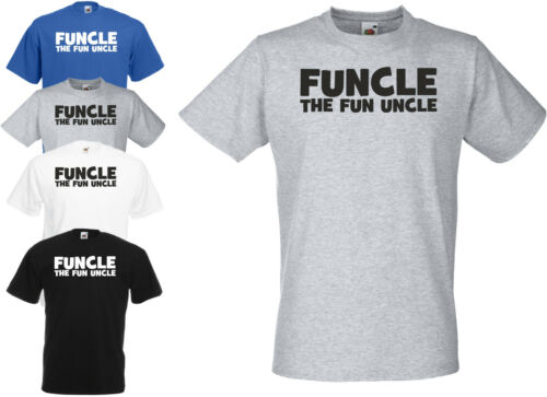FUNCLE UNCLE Funny T Shirt Adults /& Kids Christmas Xmas Birthday Gift Present