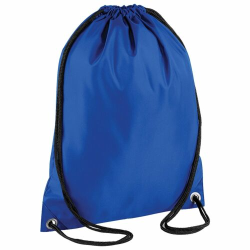 2x Girls//Boys School PE Bag Plain Waterproof Drawstring Backpack Swim Gym Bag