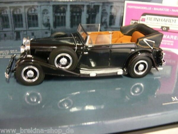 1 43 Minichamps Maybach Zeppelin DS 8 black 436039402
