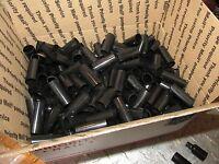 Box Of 5/8 Black Heat Shrink Tubing 225 Pcs 41mm Overstock Surplus Lot 225 Pc